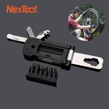 NexTool – Mini boîte à outils de vélo multifonction, jeu de bits magnétiques, clé de poche Portable, Kit doutils de réparation pour lextérieur