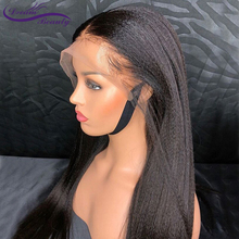 Pre Plucked 13X4 Lace Front Human Hair Wigs With Baby Hair Brazilian Non Remy Hair Italian