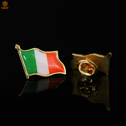Irish Paint Flag Brooch Tie Backpack Lapel Pin Commemorative Badge Gift Collection