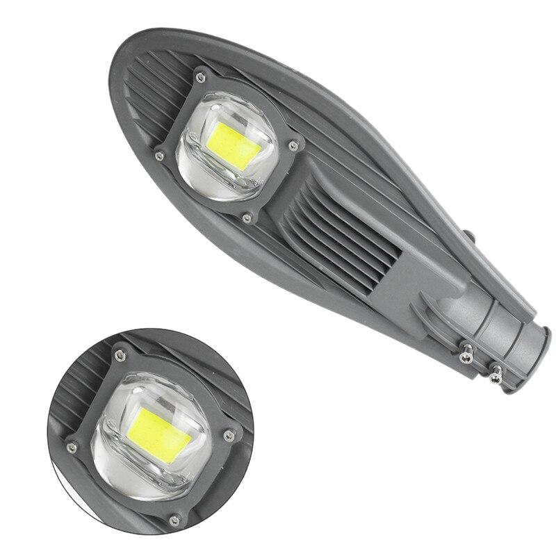 50W Led Street Light Waterproof Ip65 Road Street Flood Light Outdoor Garden Light Road Park Headlight Ac85-265V - Cool White