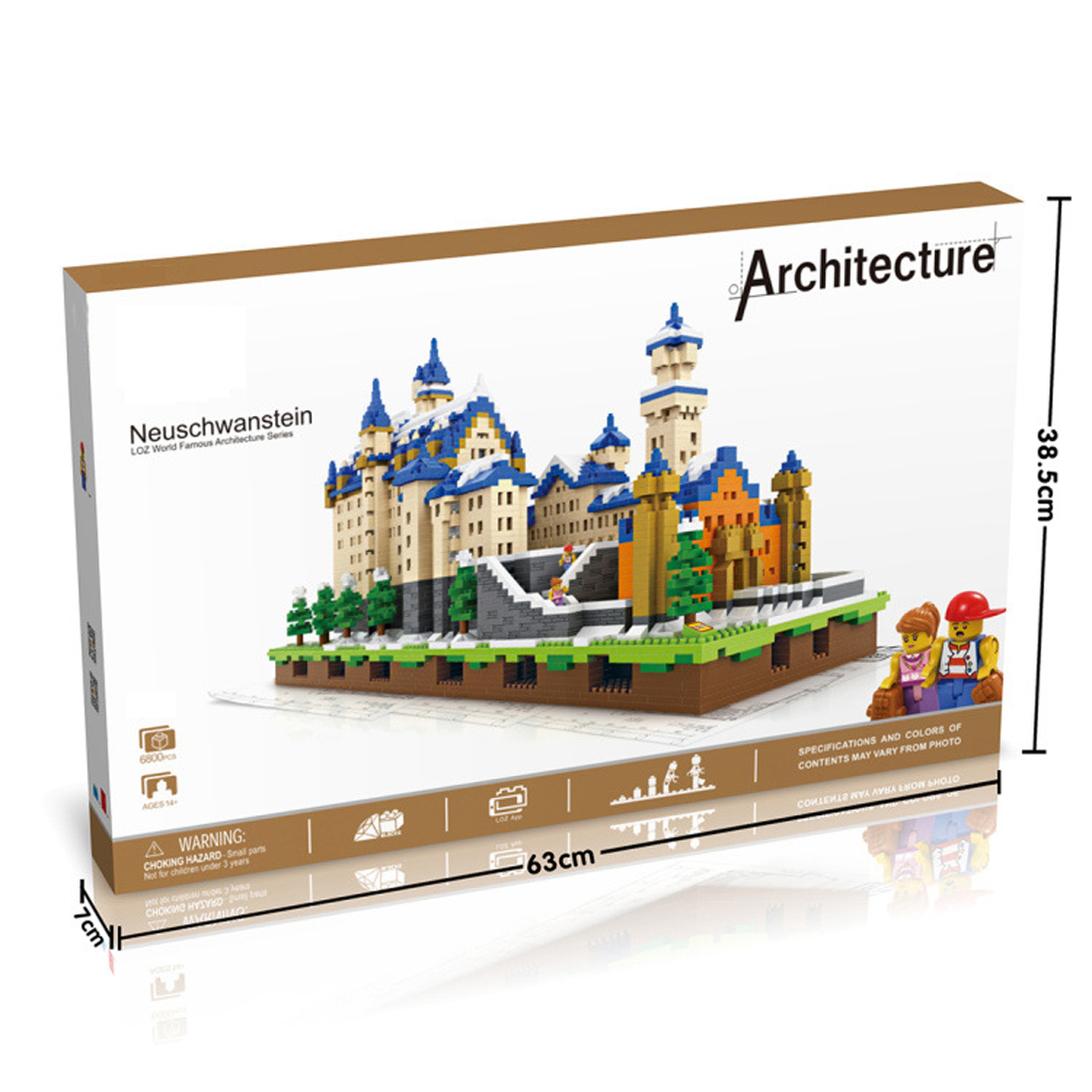 hot <font><b>LegoINGlys</b></font> city creators architecture Street view New Swan Stone <font><b>Castle</b></font> architecture mini micro diamond blocks bricks toys image