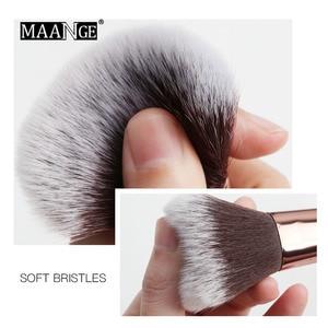 Image 4 - MAANGE Pro 5 20Pcs Makeup Brushes Set Multifunctional Brush Powder Eyeshadow Make Up Brush With Portable PU Case Beauty Tools