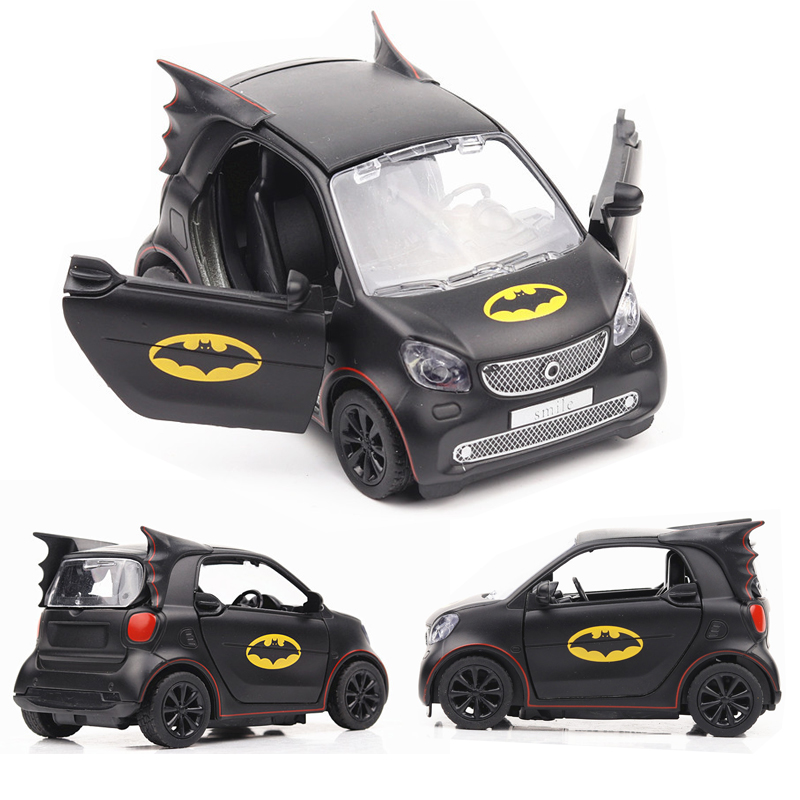 1:36  Mercedes Smart  Car Model Alloy Car Die Cast Car Pull Back Sound And Light Car Children Toys Collectibles Free Shipping