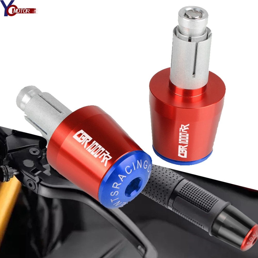 Motorcycle Handlebar Gear Balanced Plug Slider Handle Bar End Grips Cap For Honda CBR1000RR CBR 1000RR CBR 1000 RR 2004-2007