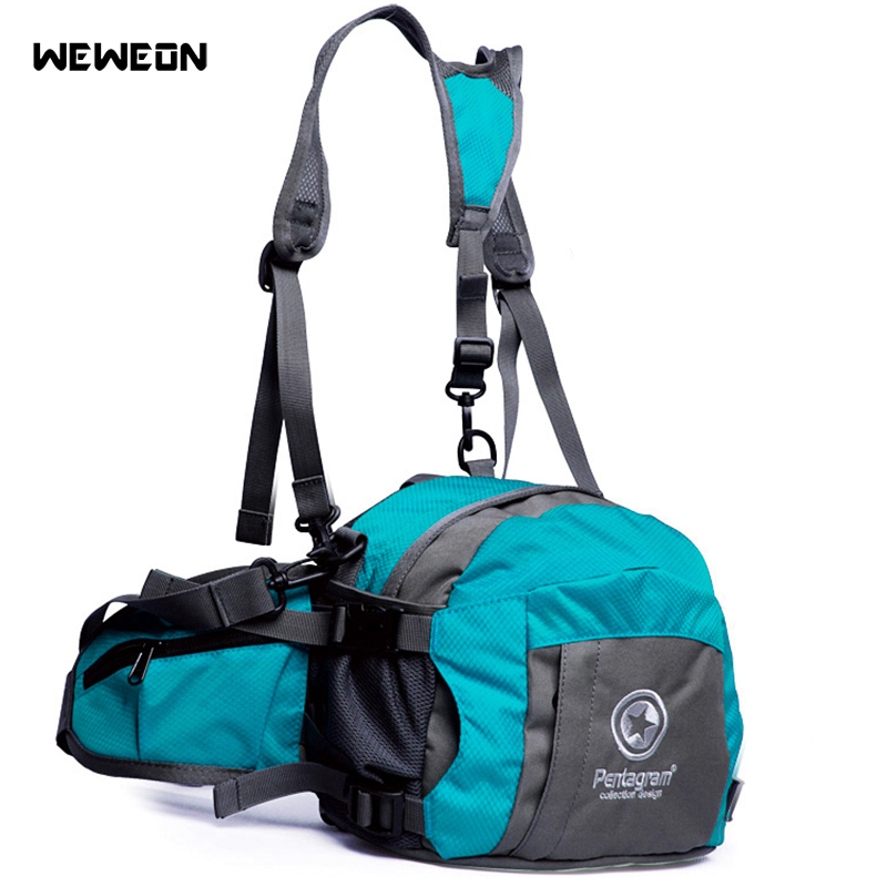 Outdoor Sports Waist Bag Running Bags Small Cycling Backpack Hiking Waist Hip Pack Mountaineering Sport With Pocket