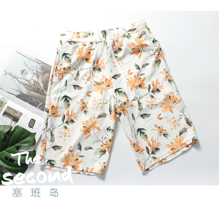2018 Swimming Trunks Men's Europe And America Fashion & Sports Large Size Men Swimsuit Sexy Loose Hot Selling
