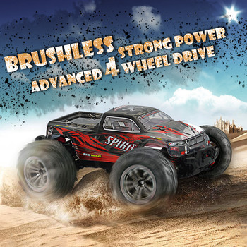 1:16 Racing RC Car Rock Crawler remote Control Truck 15 Mins Play Time 52KM/H 2.4 GHz Drift Buggy Toy Car For Kids#0515hwc 2