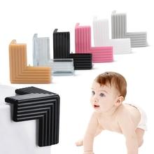 4 Uds esquina de la Mesa de bebé de seguridad Protector de silicona cubierta de borde protectores para las esquinas niño esquina de los muebles anticolisión guardias cubierta
