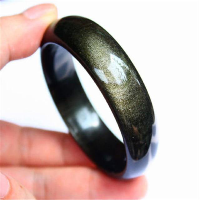 Pulsera de Granate Obsidiana Oro y /Ámbar B/áltico de 6 mm Cuentas Naturales de Gemas Naturales de Grado AAA Brazalete de los Elementos Fuego Cobre