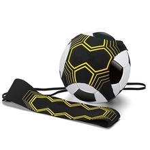 Football Assisted Traine Soccer Kick Solo Trainer Belt Adjustable  Bandage Control Training Aid Equipment Waist Belts