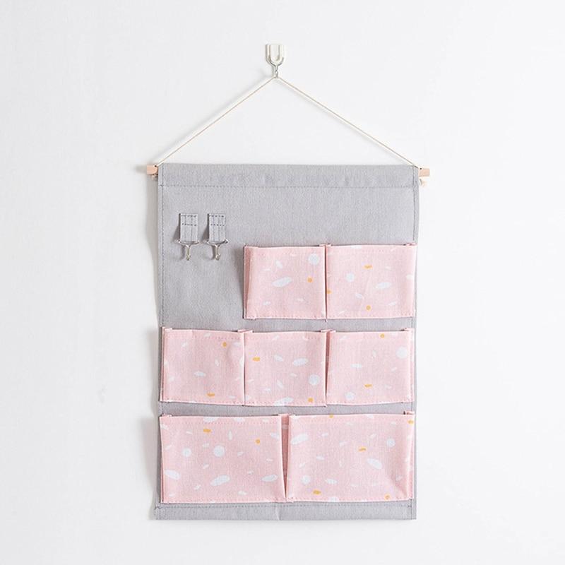 Carttoon настенная подвесная сумка для хранения в скандинавском стиле, органайзер для детской кроватки, декор для детской комнаты, детская игрушка, сумка для хранения подгузников, Домашний Органайзер - Цвет: 15