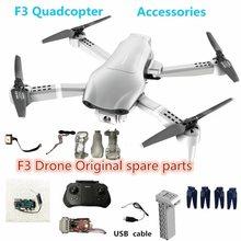 4drc f3 zangão bateria de reposição 7.4v 2000 mah vôo 23-25 minutos 4d-f3 quadcopter drones cabo usb hélice maple folha