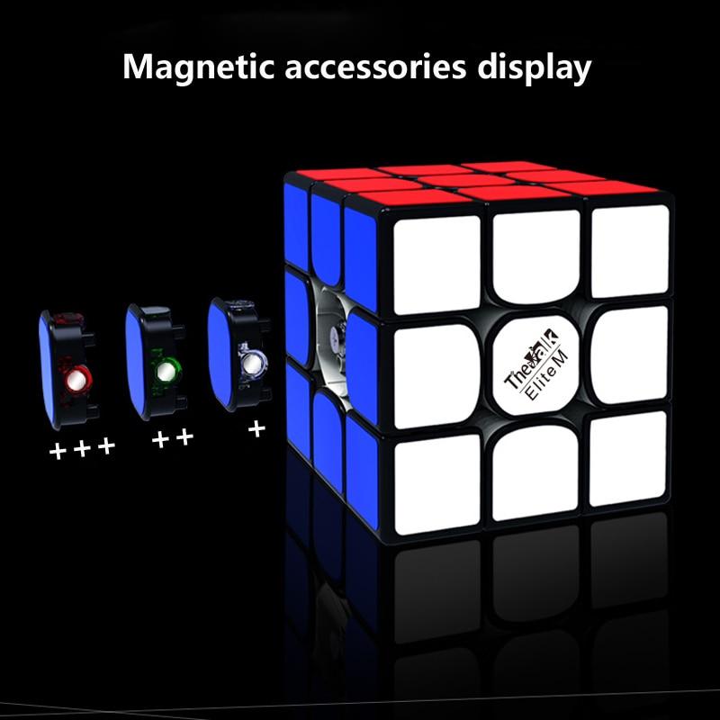 555mm tamanho cubo 3x3x3 velocidade cubo magnetico 03
