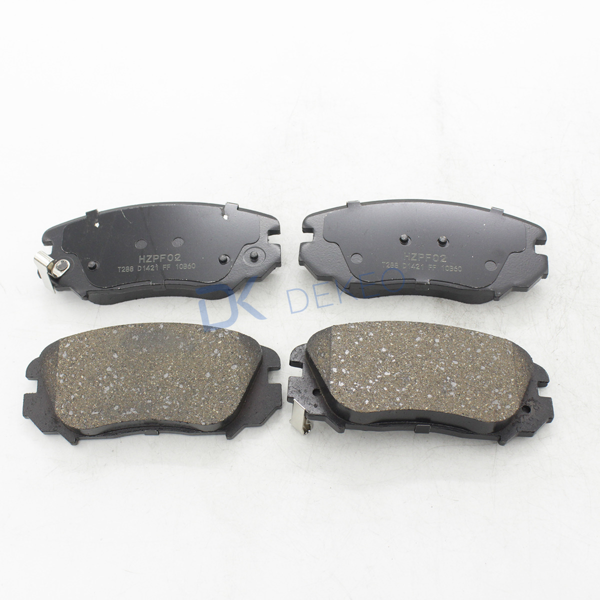 DEKEO Car Brake Pads Front For GMC TERRAIN Buick Regal (Fifth Generation) Chevrolet Mai Ruibao 1605185 13237753 13312895 4PCS|Car Brake Pads & Shoes| |  - title=
