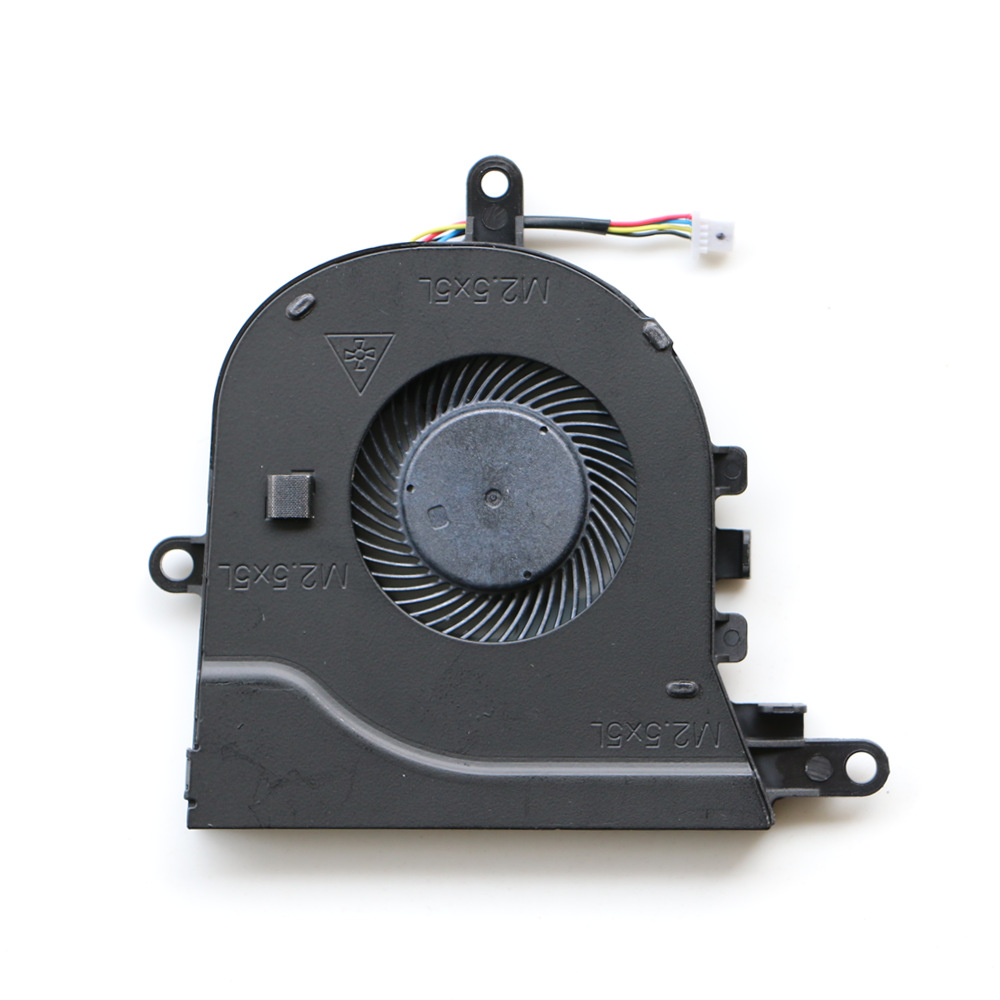 Вентилятор для ноутбука QAOOO для Dell Latitude 3590 E3590 / INSPIRON 15-3593 3580 3581 17-3780 5593, кулер для охлаждения процессора P75F