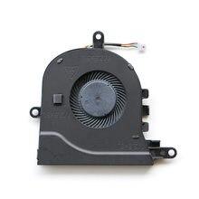 Qaooo ventilador do portátil para dell latitude 3590 e3590/inspiron 15-3593 3580 3581 17-3780 5593 cpu ventilador de refrigeração p75f CN-0FX0M0