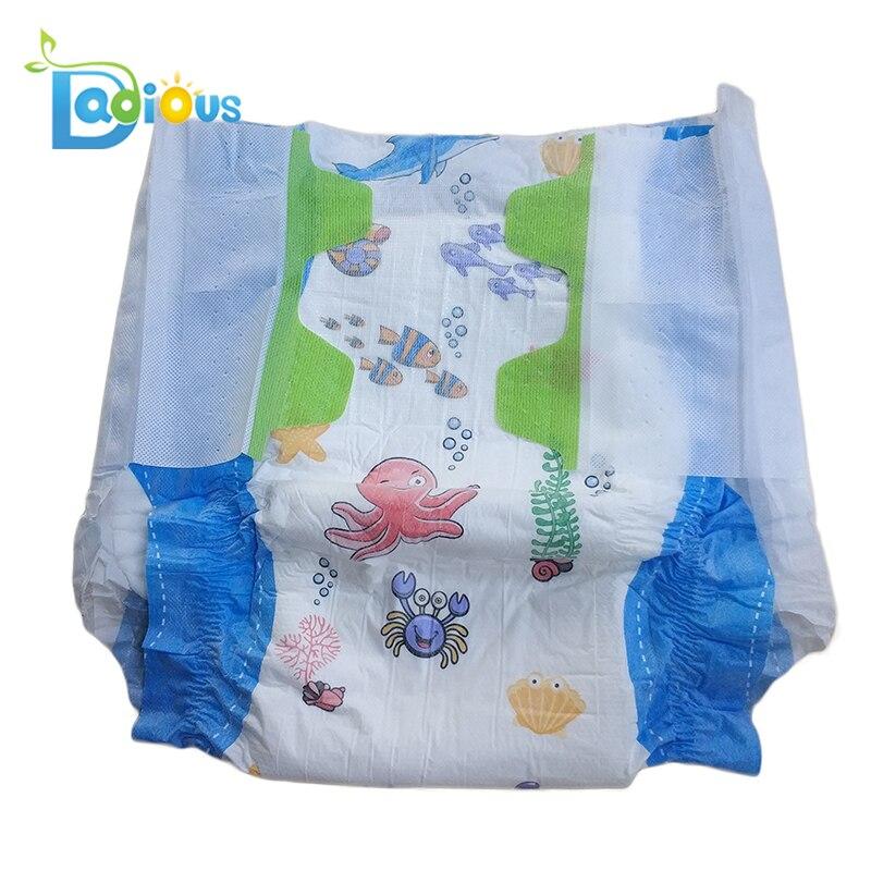 Купить подгузник abdl для взрослых подгузник с милым принтом и эластичной