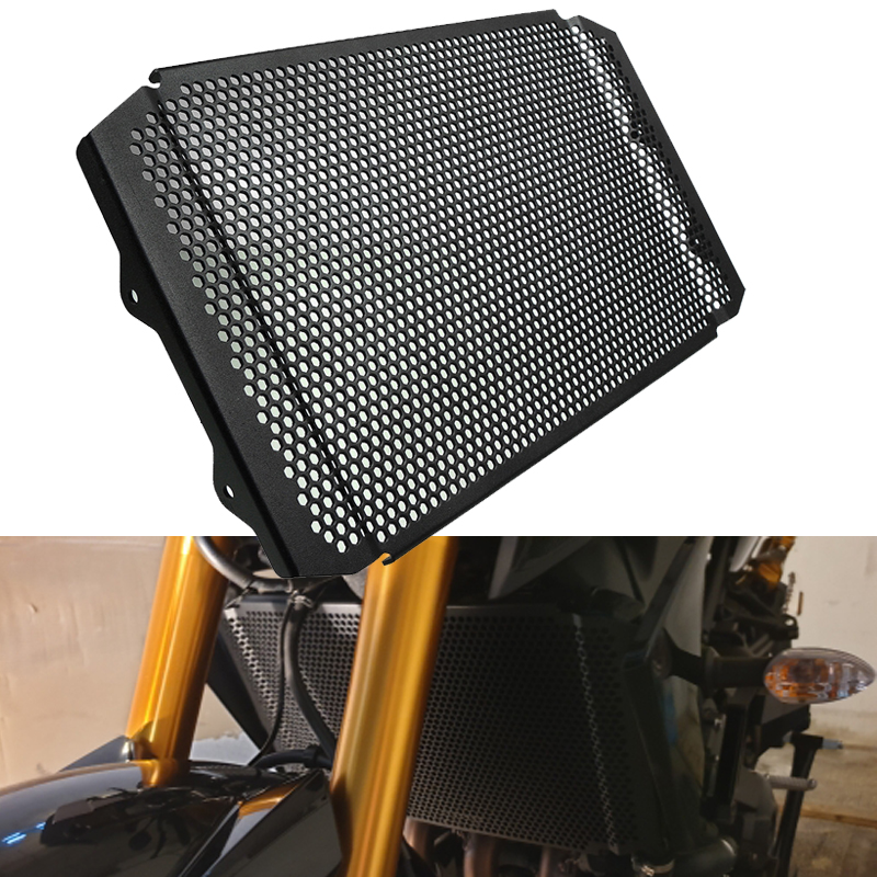 Areyourshop For Yamaha XSR 900 XSR900 2016 2017 2018 Frames Fittings Radiator Guard Protector Grille Grill Cover Stainless Steel