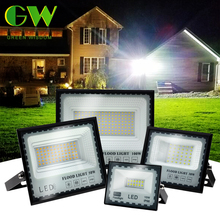 30W 50W 100W 200W LED Flood Light AC 220V Outdoor Floodlight Spotlight IP66 Waterproof Super Bright LED Street Lamp for Garden
