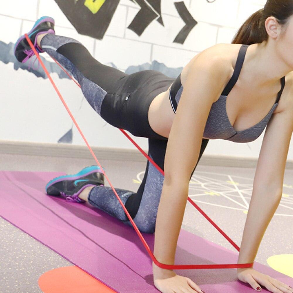 Унисекс Фитнес 208 Dragon Ball см резиновая Эспандеры йога группа Пилатес эластичная петля Эспандер для кроссфита прочность оборудование для физических упражнений-1