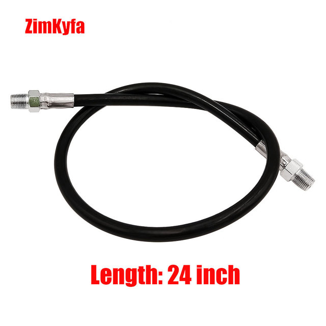 Paintball Hose HPA High Pressure Fill Line 24/37 Incle Long 4500psi