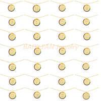 Новое регулируемое ожерелье радужной расцветки с 26 буквами, модель 2020 года, женские модные ювелирные изделия, роскошные романтические пода...