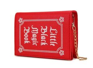 Image 3 - ENJOININ Fashion Magic Book Design Pu Purse Daily Clutch Bag Ladies Shoulder Bag Handbag Womens Crossbody Mini Messenger Bag