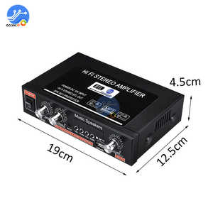 Image 5 - G30 Digital Home Amplifier Bluetooth HIFI Stereo Subwoofer Music Player Support FM TF AUX 2 Channel with Remote Control