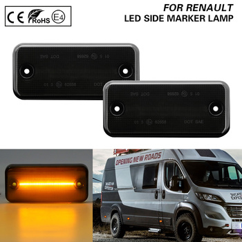 FOR Fiat Ducato IVECO Daily Citroen Relay Peugeot Boxer RENAULT VOLVO FL/FE IRISBUS HEULIEZ DAF LED Side Marker Light lamp Smoke free ship turbo cartridge chra core gt2256v 751758 751758 0001 707114 for iveco daily for renault mascott 00 8140 43k 4000 2 8l