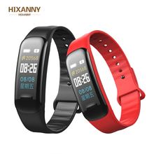 Color Screen Smart Bracelet Blood Pressure Smart Band Heart Rate Monitor Smart Fitness Tracker Wristband  PK MI Band4 smart watch m19 heart rate fitness bracelet sleep monitor smart tracker blood pressure smart band color screen band pk mi band 3