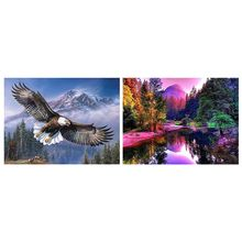 Brave Eagle 5D Diamond Painting Kits Full Drill Wall Decoration Rhinestone Embroidery Paintings