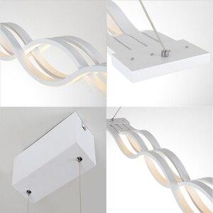 Image 5 - โมเดิร์นโคมไฟระย้า LED สำหรับห้องนั่งเล่นห้องรับประทานอาหารห้องครัว Luster AC110V 220V โคมไฟเพดาน LED โคมไฟระย้า Fixutres ผู้ทรงคุณ