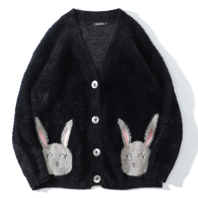 Купить jing zhe женский свитер зимние теплые милые миленькие в японском