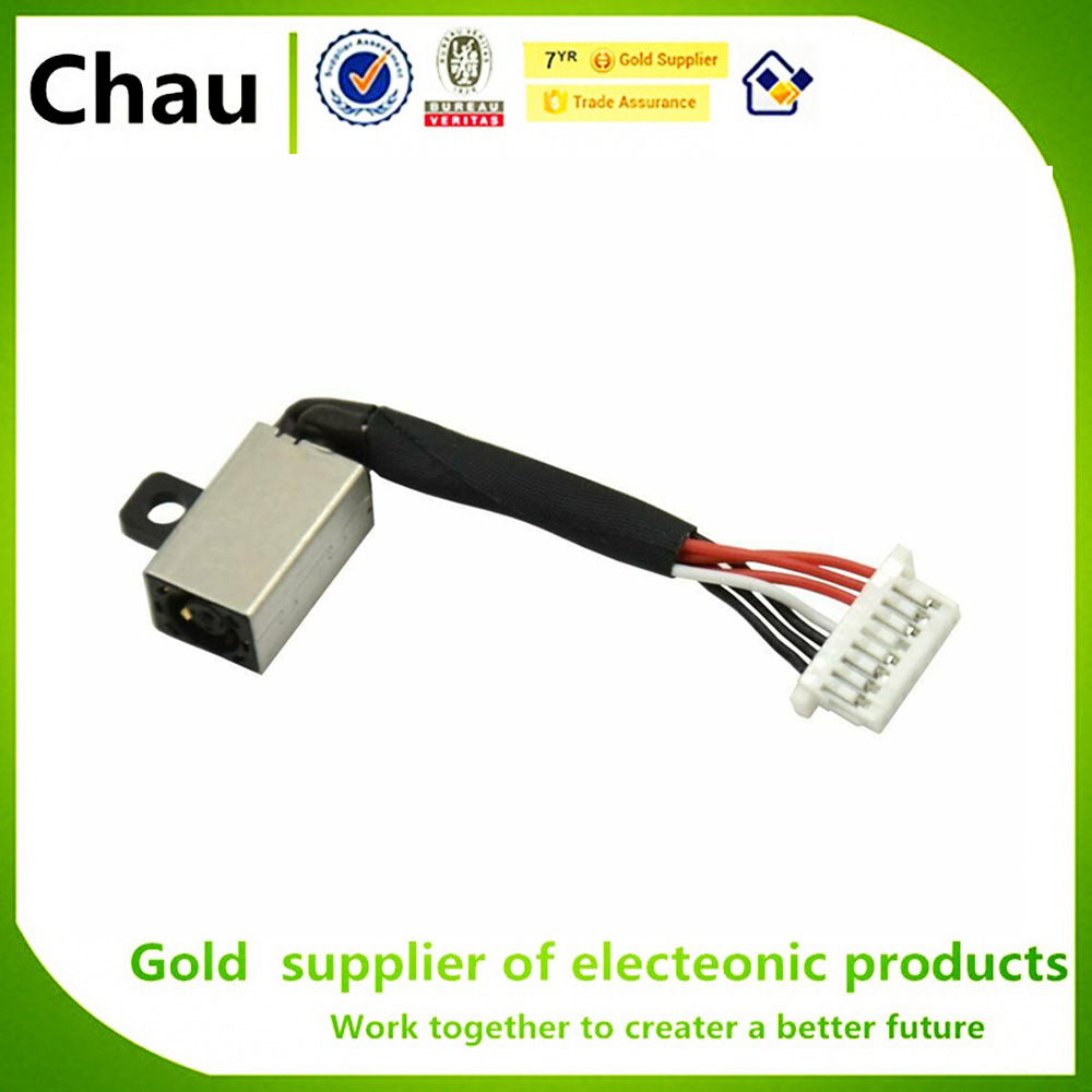 New DC Power Jack Harness Cable Replacement For Dell Inspiron 15 (5568 7569 7579 7570) 13 (5368 5378 7368 7378) 0PF8JG PF8JG
