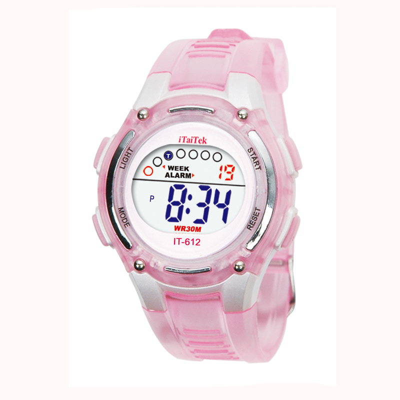 Children's watch boy and girl swimming sports multi-function digital waterproof watch new hot sale Christmas gift watch часы 03