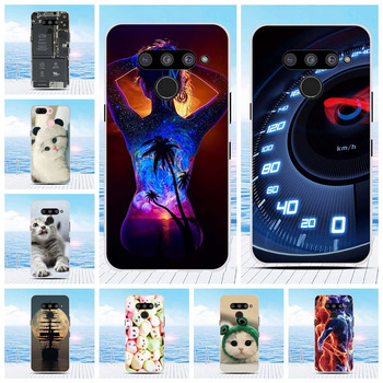 Case For LG V50 ThinQ 5G Phone Case Cover Shell For LG V50 TPU Protection Coque For LG V50 ThinQ 5G LM-V500 Silicone Shell image