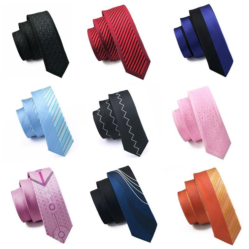 5,5 см Модный тонкий галстук золотого и оранжевого цветов, Шелковый жаккардовый галстук для мужчин, свадебные, вечерние, повседневные, Прямая поставка