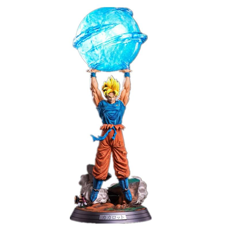 dragon ball goku god genkidama figurine