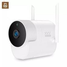 חדש Youpin Xiaovv 1080P חיצוני פנורמי מצלמה מעקבים מצלמה אלחוטי WIFI בחדות גבוהה ראיית לילה