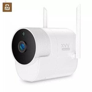 Image 1 - חדש Youpin Xiaovv 1080P חיצוני פנורמי מצלמה מעקבים מצלמה אלחוטי WIFI בחדות גבוהה ראיית לילה