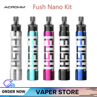 Original Acrohm Fush Nano Vape Pod Kit 550mAh 1.2ml Capacity Change Color While Using VS Electronic Cigarette FUSH KIT