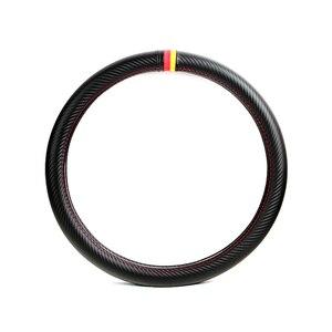 Image 5 - Srxtzm capa para volante automotivo, capa de fibra de carbono com 38cm para bmw x1 x3 x5 x6 e36 e39 e46 e30 e60 e90 f30 320i 325i 330i