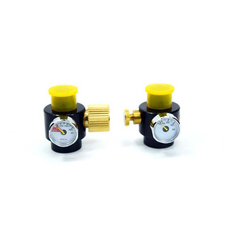 PCP Paintball Tank Adjustable Regulator Output Pressure 0-300psi/3000psi G1/2-14 Thread