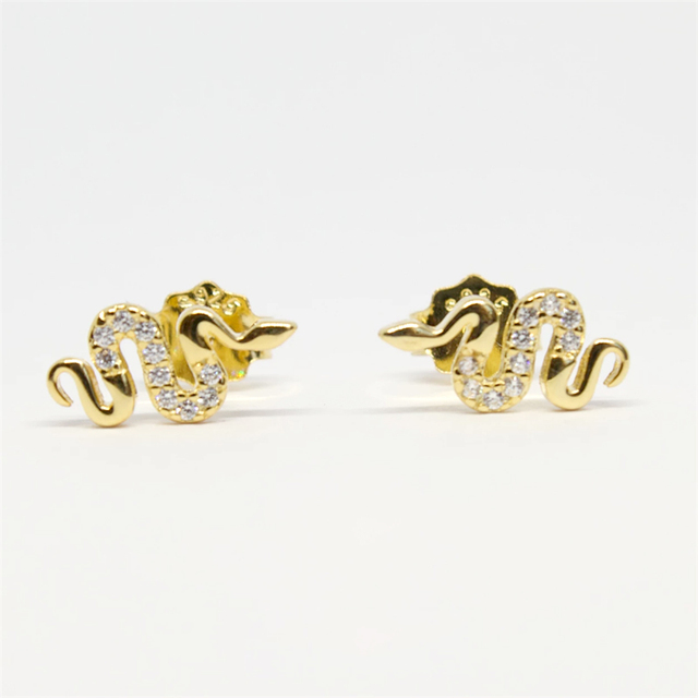 Women s Punk Style Animal Snake Earring 100 925 Sterling Silver Snakelike Pendant Stud Earrings for.jpg 640x640 - Women's Punk Style Animal Snake Earring 100% 925 Sterling Silver Snakelike Pendant Stud Earrings for Women A30