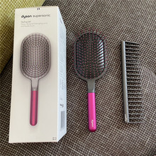 For Dyson Comb Wide Tooth  air Detangling Hairdressing Rake Hair Styling  massage Sharon Brush Set (2pc) Tool accessories
