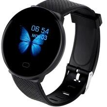 DOOLNNG D19 Smart Watch Heart Rate Blood Pressure Health SmartWatch Bluetooth