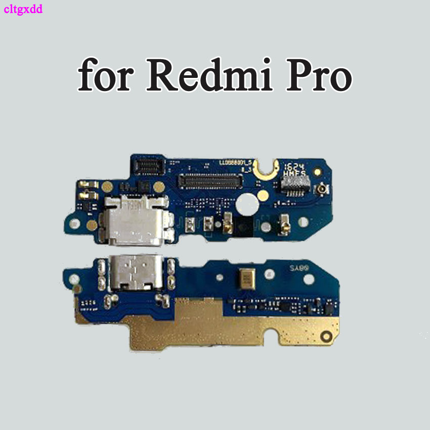 Cltgxdd 1pcs For Xiaomi Redmi Pro Micro Dock Connector Board USB Charging Port Flex Cable