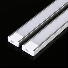 LED Led-Strip Aluminum-Profile 5050 Milky/transparent-Cover for 5630 U-Style 2-30pcs/Lot