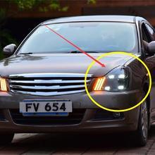 2006~ 2019y автомобиль bupmer головной свет для Nissan Sylphy фара Bluebird sentra автомобильные аксессуары все в светодиодный противотуманный фонарь для Sylphy фары
