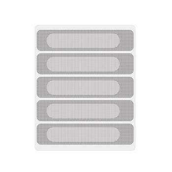 5 sztuk trwałe anty-owady muchy robaki drzwi okno moskitiery są wklejone z samoprzylepną taśmą aby szybko kontrolować zabijanie owadów tanie i dobre opinie CN (pochodzenie) Hook Loop Zapięcie JE241220 Other Drop shipping wholesale Window Repair Accessories Window Screen 5PCS